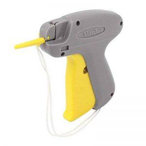 sourcingmap 9S jaune gris plastique Prix habillement étiquetage Étiquetage Pistolet w Corde levage de la marque sourcing map image 0 produit