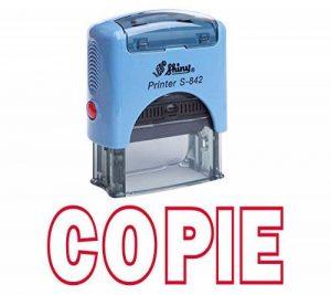 Stamp COPIE auto-encrage caoutchouc Bureau Brillant personnalisée Stamp Papeterie de la marque Printtoo image 0 produit