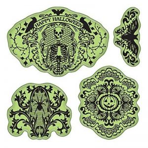 Stamping Gear 4 x 10,2 cm Inka Halloween Dentelle étirable Tampon de la marque Stamping Gear image 0 produit