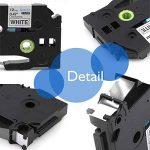 Startup 10 Pack Ruban d'étiquette pour Brother P-touch TZe-231 TZe231 Cassette laminée, noir sur blanc 12mm (0,47 inch) x 8m (26,2 ft) de la marque startup image 1 produit