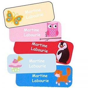Stickers Personnalisés Prénom Et Nom | Autocollants Personnalisés Étanches Motifs Variés Fille (40) de la marque Étiquette autocollante super fun image 0 produit