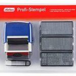 Stieber Tampon encreur professionnel à faire soi-même 58 mm x 22 mm de la marque Stieber image 1 produit