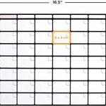 Tableau blanc des Tâches magnétique Format A3 Par Plan Smart *Version Couleur*- Planning Familial pour frigo - BONUS: 3 Marquers De Qualité de la marque Plan Smart image 4 produit