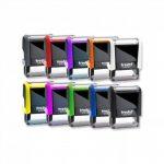 Tampon auto-encreur avec votre texte personnalisé - 58x22 mm - 5 lignes - Printy TRODAT 4913 de la marque Trodat image 3 produit
