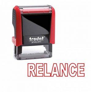 Tampon auto encreur - RELANCE - TRODAT Printy 4911 encré rouge dernière génération de la marque Trodat image 0 produit