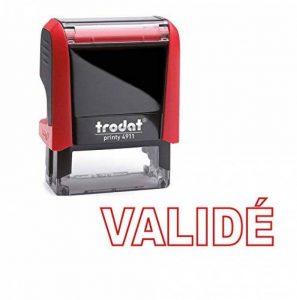 Tampon auto encreur - VALIDÉ - TRODAT Printy 4911 encré rouge dernière génération de la marque Trodat image 0 produit