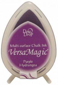 Tampon encreur Tsukineko Versamagic goutte de rosée, violet hortensia de la marque Versamagic Dew Drop Ink Pads image 0 produit