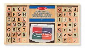 tampon lettre alphabet TOP 1 image 0 produit