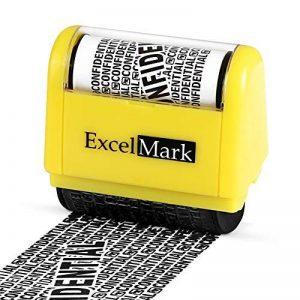 Tampon rouleau ExcelMark pour la protection contre les vols d'identité - Protection sécurisée contre le vol d'identité de la marque ExcelMark image 0 produit