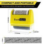 Tampon rouleau ExcelMark pour la protection contre les vols d'identité - Protection sécurisée contre le vol d'identité de la marque ExcelMark image 1 produit