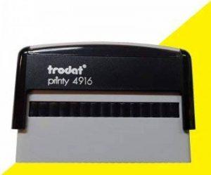 Tampon trodat 4916 de la marque Trodat image 0 produit