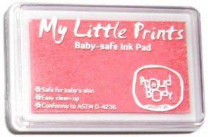 Tampons d'encre pour empreintes de Proudbody, sans danger pour bébé de la marque Proud Body image 0 produit