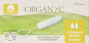 Tampons Organyc sans applicateur - Réguliers de la marque Organyc image 0 produit