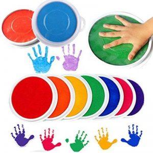TAOtTAO Couleurs DIY Tampon encreur Tampon doigt Peinture Craft Création de cartes Grand rond pour enfants de la marque TAOtTAO image 0 produit