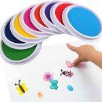 TAOtTAO Couleurs DIY Tampon encreur Tampon doigt Peinture Craft Création de cartes Grand rond pour enfants de la marque TAOtTAO image 1 produit