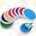 TAOtTAO Couleurs DIY Tampon encreur Tampon doigt Peinture Craft Création de cartes Grand rond pour enfants de la marque TAOtTAO image 2 produit