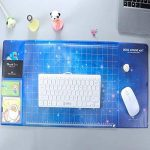 Tapis de souris multifonction étanche buvard Tapis de Bureau avec sans plastifiants / PVC | parfait pour les enfants ou le bureau | taille 70x32.5cm (étoile) de la marque Trinny image 3 produit