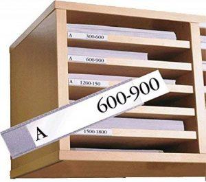 Tarifold 65232 Sachet de 12 Porte-etiquettes 25 x 75 mm de la marque Tarifold image 0 produit