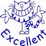 Teacher Stamps BR002CM Tampon Auto-encreur pour Enseignant Excellent Couleur aléatoire de la marque Teacher Stamps image 1 produit