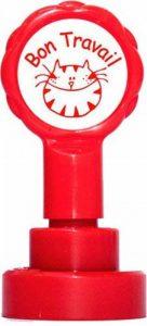 Teacher Stamps BR006CM Tampon Auto-encreur pour Enseignant Bon travail Couleur aléatoire de la marque Teacher Stamps image 0 produit