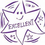 Teacher Stamps BR034CM Tampon Auto-encreur pour Enseignants Excellent - Couleur aléatoire de la marque Teacher Stamps image 1 produit