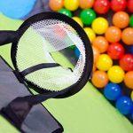 Tente de jeu pour enfants | Incl. 200 balles multicolores | léger à transporter | Idéal pour l´intérieur et l´extérieur | Incl. pratique étui pour le garder / transporter | Maison de Jardin de la marque LittleTom image 4 produit