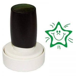Timbre Rond-Diamètre 40 mm Tampons e-Noir Encre de la marque Aolun image 0 produit
