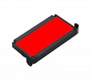 Timbres par SPC//Idéal/Trodat 4910de remplacement Pad//Parfait pour tous les Idéal/Trodat 4910Tampons auto-encreurs.–étendre Tampon Vie ou Changement de couleur de l'encre:. Rouge de la marque Stamps By SPC image 0 produit