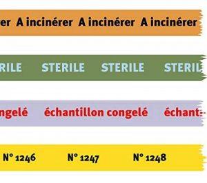 timemed 140247personnalisée Étiquettes sur ruban adhésif 12m x 38mm de la marque Timemed image 0 produit