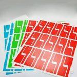 étiquette adhésive couleur TOP 10 image 4 produit