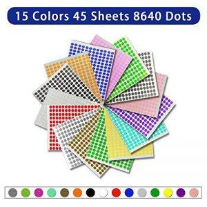étiquette adhésive couleur TOP 11 image 0 produit