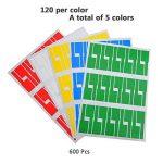 étiquette adhésive couleur TOP 9 image 4 produit