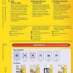 étiquette adresse transparente TOP 5 image 1 produit