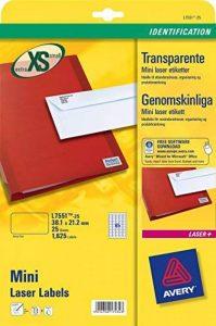 étiquette adresse transparente TOP 6 image 0 produit