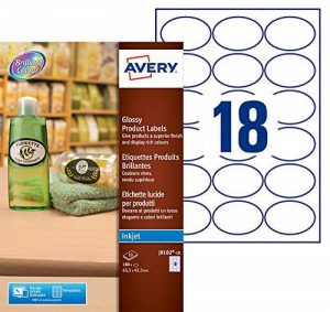 étiquette amovible TOP 8 image 0 produit