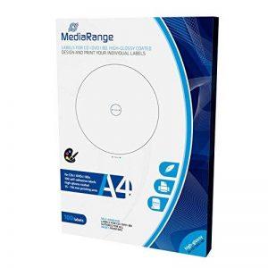 étiquette autocollante pour cd TOP 8 image 0 produit