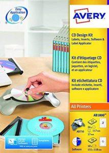étiquette cd logiciel gratuit TOP 7 image 0 produit