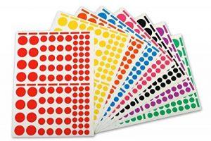 étiquette couleur autocollante TOP 0 image 0 produit