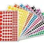 étiquette couleur autocollante TOP 0 image 1 produit