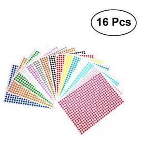 étiquette couleur autocollante TOP 11 image 0 produit