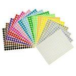 étiquette couleur autocollante TOP 8 image 3 produit
