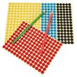 étiquette couleur autocollante TOP 8 image 4 produit