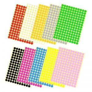 étiquette de couleur autocollante TOP 5 image 0 produit