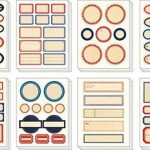 étiquette métallique autocollante TOP 0 image 1 produit