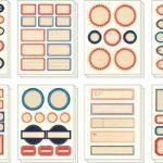 étiquette métallique autocollante TOP 0 image 2 produit