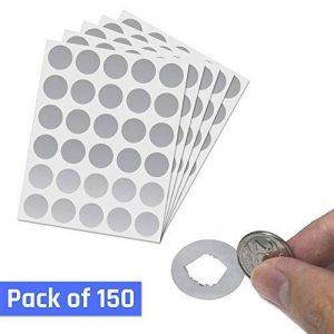 étiquette métallique autocollante TOP 11 image 0 produit