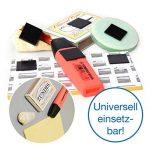 étiquette métallique autocollante TOP 9 image 3 produit