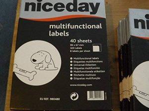 étiquette niceday TOP 9 image 0 produit