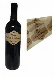 étiquette personnalisée bouteille TOP 4 image 0 produit