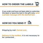 étiquette à personnaliser et à imprimer TOP 9 image 3 produit